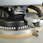 Schrobmachine HD Floorpul Onyx 43B – schrobben onder tafels!