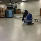 HD Floorpul zit schrobmachine voor schoonmaakbedrijf Agouty